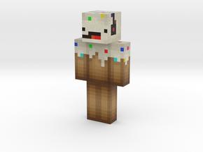 Grassmonster85 | Minecraft toy in Natural Full Color Sandstone