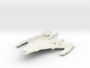 Dominion Battleship in White Natural Versatile Plastic