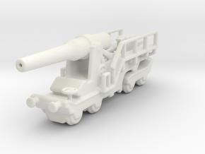 canon de 240mm sur affut truc mle 1/160 in White Natural Versatile Plastic