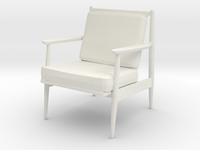 Printle Thing Chair 020 - 1/24 in White Natural Versatile Plastic