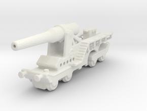 canon de 274 sur affut truc mle 1/285 6mm   in White Natural Versatile Plastic