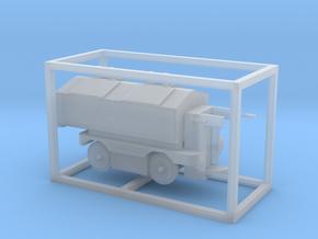 E-Karren Müllwagen V1 - 1:120 TT in Smooth Fine Detail Plastic