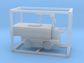 E-Karren Müllwagen V2 mit Kran - 1:120 TT in Smooth Fine Detail Plastic