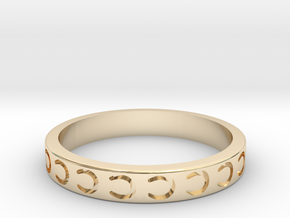 Horseshoe Stackable in 14K Yellow Gold