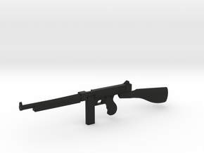 1:6 Miniature Thompson 1944 in Black Natural Versatile Plastic