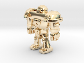 CYBORG1 in 14K Yellow Gold
