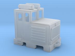 D3 diesel shunter / diesel da manovra in Smooth Fine Detail Plastic