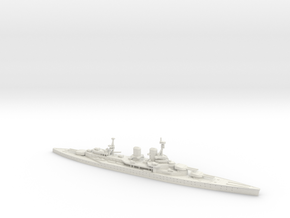 HMS Renown WWI 1/1250 in White Natural Versatile Plastic