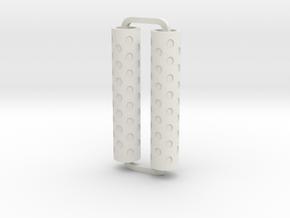 Slimline Pro holes ARTG in White Natural Versatile Plastic