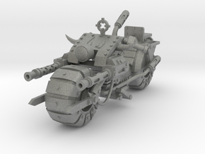 28mm space orc bike in Gray PA12