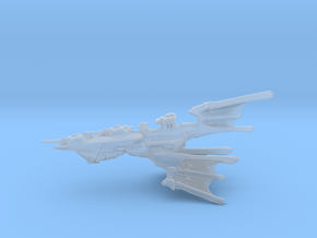 Eldar Cruiser - Concept 1 in Smooth Fine Detail Plastic