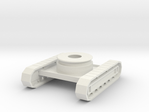 rb-55-rb10-chassis in White Natural Versatile Plastic