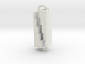 Slimline Pro dual material lathe in White Natural Versatile Plastic