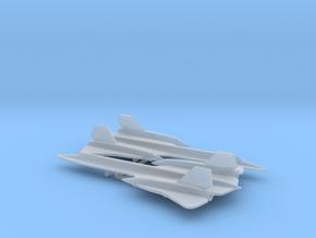 Lockheed SR-71 Blackbird in Smooth Fine Detail Plastic: 1:500