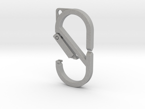 CARABINER (Carabiner & Quick-Release Key System) in Aluminum: Large