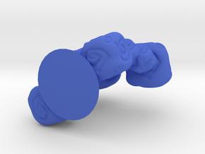 EARTH ELEMENTAL in Blue Processed Versatile Plastic