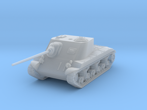 1/144 T25 AT SPG in Smooth Fine Detail Plastic