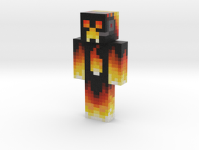 custom | Minecraft toy in Natural Full Color Sandstone