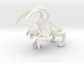 Starcraft HD Zergling 1/60 miniature for games rpg in White Natural Versatile Plastic
