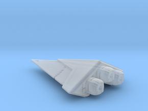 Blake's 7 Zukan Ship in Smooth Fine Detail Plastic