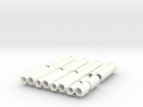 1/87 HO Betonrohr DN300 + DN400 B-KF-GM 2500/1000  in White Processed Versatile Plastic