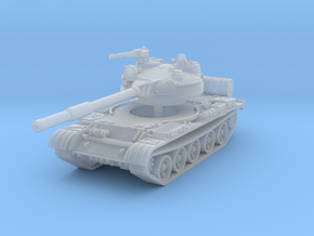 T62 Tank 1/285 in Smooth Fine Detail Plastic