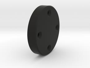 AD3_holder_rollertop  Adventurer3 Filament spool h in Black Natural Versatile Plastic: Small