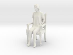 Printle C Femme 423 - 1/18 - wob in White Natural Versatile Plastic