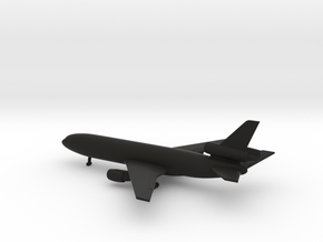 Douglas DC-10-10 in Black Natural Versatile Plastic: 1:700