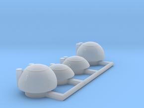 4 bridge variants for 1/1000 PL Enterprise in Smooth Fine Detail Plastic
