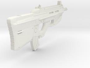 1:6 Miniature FN F2000 Gun in White Natural Versatile Plastic