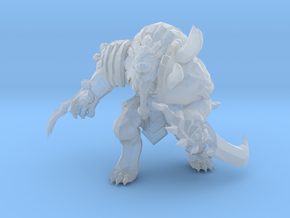 Classic Rengar werelion 1/60miniature for games in Smooth Fine Detail Plastic