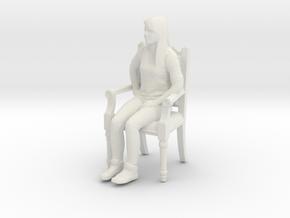 Printle C Femme 425 - 1/20 - wob in White Natural Versatile Plastic
