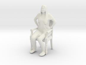 Printle C Femme 424 - 1/32 - wob in White Natural Versatile Plastic