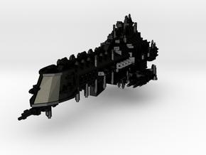 Oberon Class Battleship in Matte Black Steel
