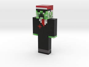 unspeakable | Minecraft toy in Natural Full Color Sandstone