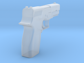 1:3 SIG Sauer P250 Semi-automatic Pistol in Smooth Fine Detail Plastic