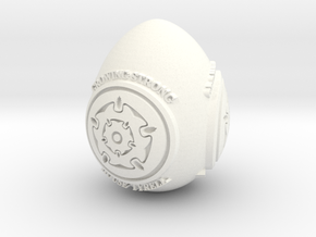 GOT House Tyrell Easter Egg in White Processed Versatile Plastic