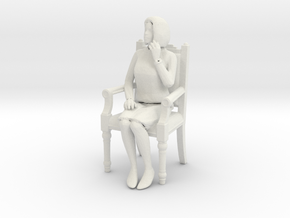 Printle V Femme 426 - 1/32 - wob in White Natural Versatile Plastic