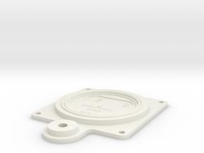 08.04.14.02 Gyro Body Rev1 in White Natural Versatile Plastic