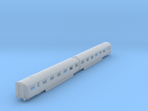 b-148fs-lner-coronation-twin-open-first in Smooth Fine Detail Plastic
