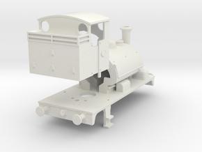 GWR Shunter 00 gauge in White Natural Versatile Plastic