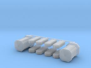 Linien- und Endverzweiger 10erSet - 1:87 H0 in Smooth Fine Detail Plastic