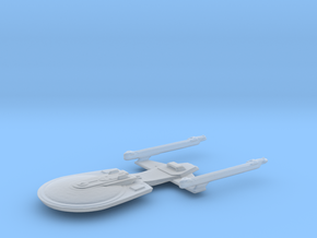 Excelsior Class Study Model in Smooth Fine Detail Plastic