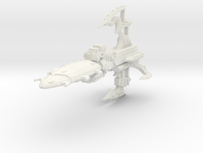 gran crucero clase mortalis shapeways in White Natural Versatile Plastic