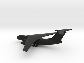 Ilyushin Il-76 Candid in Black Natural Versatile Plastic: 1:700