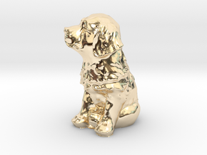 Puppy in 14K Yellow Gold: Small