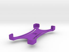 Platform (159 x 79 mm) in Purple Processed Versatile Plastic