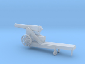 1/72 Scale Civil War 32-pounder M1845 Seacoast Gun in Smooth Fine Detail Plastic