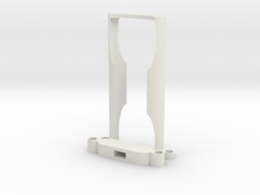 Insta360 One X Full Frame Case in White Natural Versatile Plastic